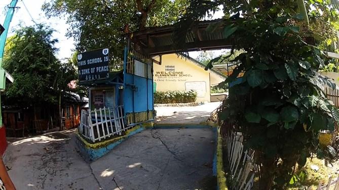 Apo School in town