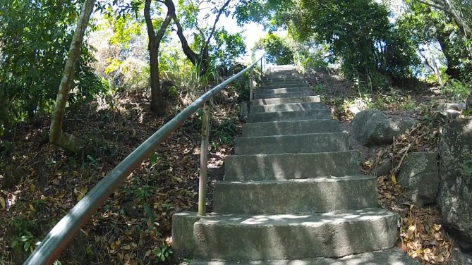 Apo Stairs Up to Lighthouse