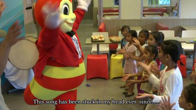 JB2 kids with Jollibee
