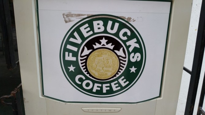 Food Fivebucks coffee machine