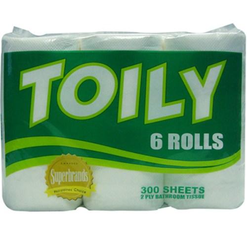 toily toilet paper