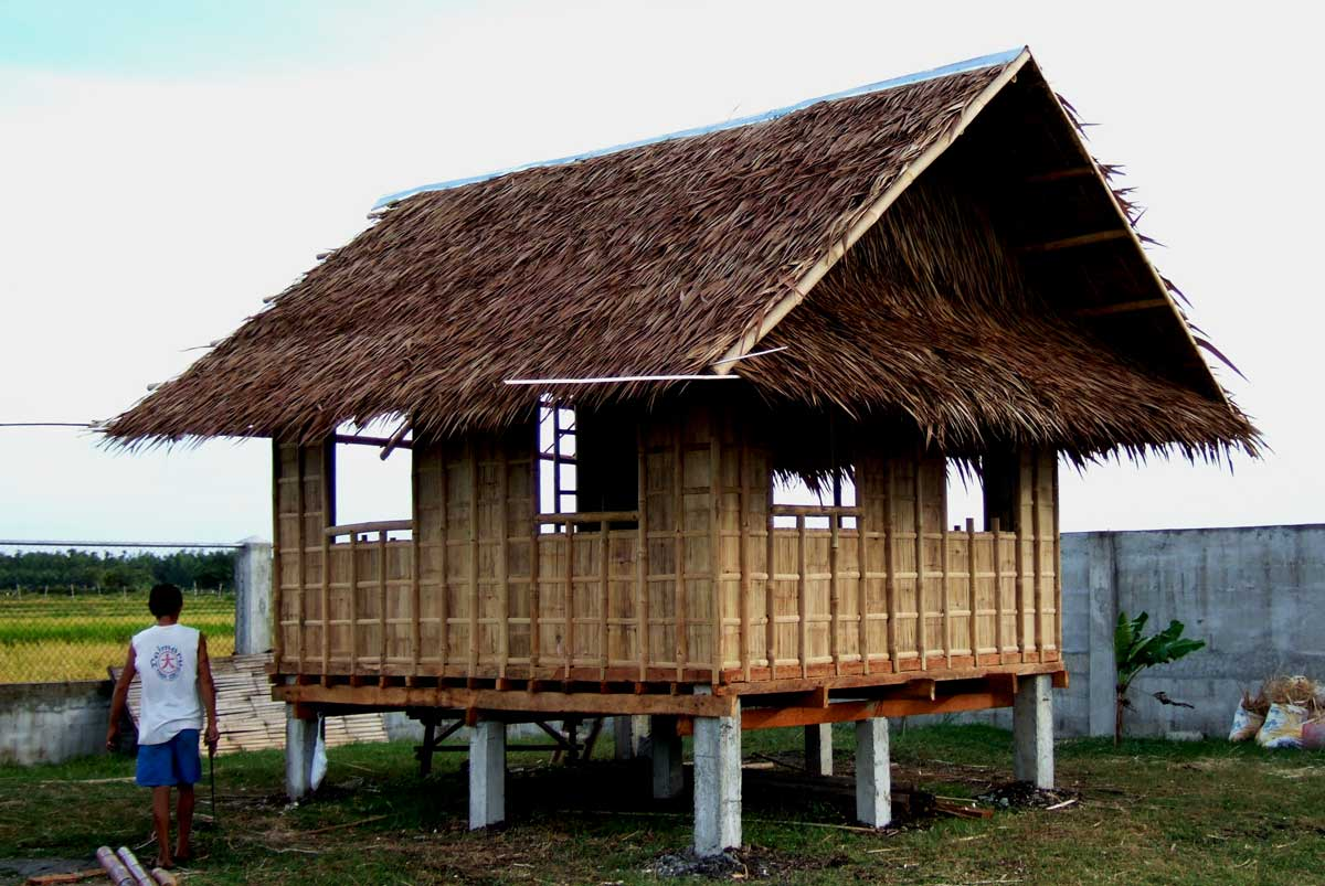 Bahay kubo further my philippine life for Nipa hut interior designs