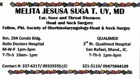 Dra Uy Clinic Hours