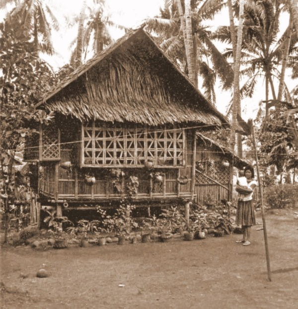 We build a bahay kubo bamboo guest house my philippine for Traditional house building