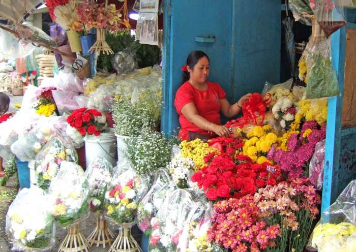 Flower Shop at Iloilo Public Market