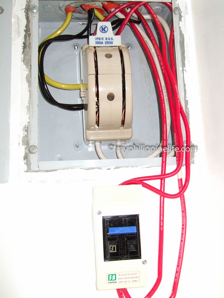 philippine electrical wiring building our philippine house my  panel breaker box wiring diagram philippine electrical #1