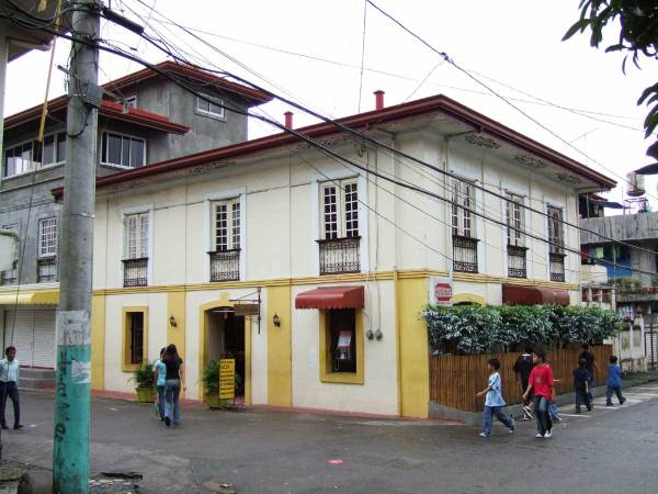 Commercial building in Lucban, Quezon Province, Philippines