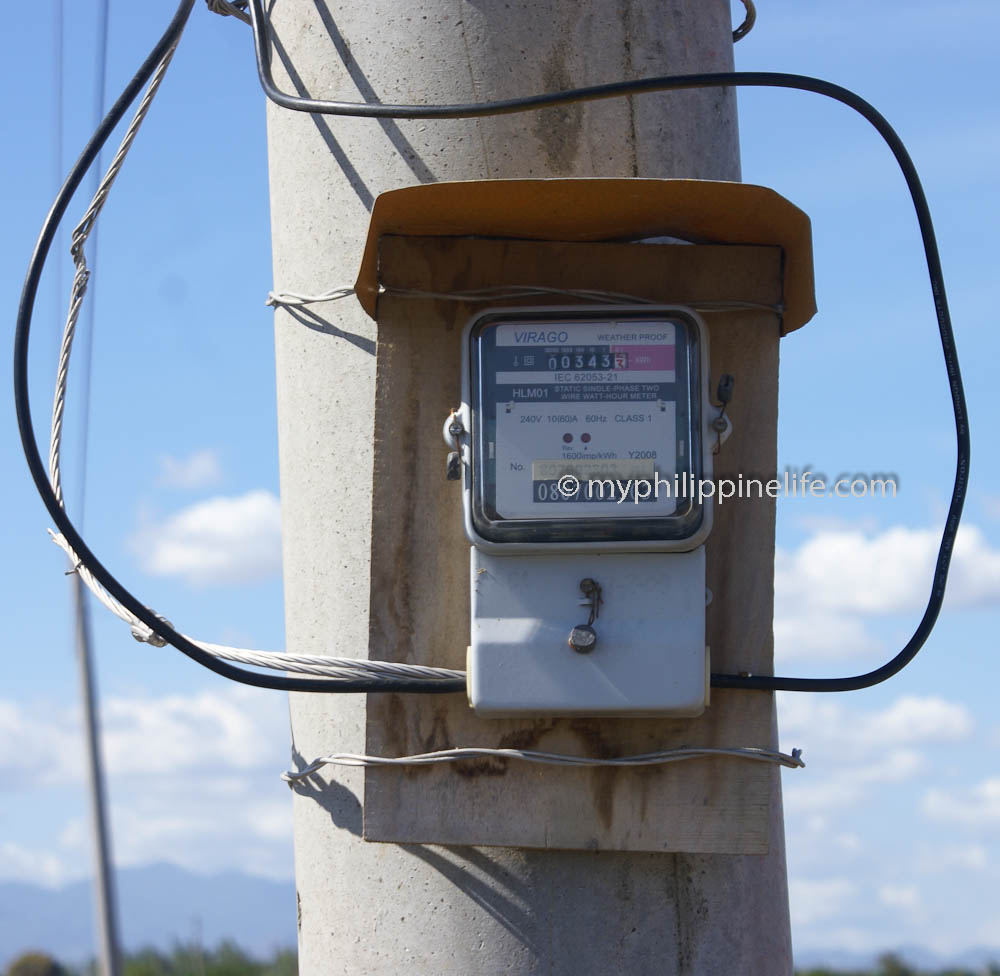 Philippine Electrical Wiring Building Our House My Job Description Pole Mounted Meter