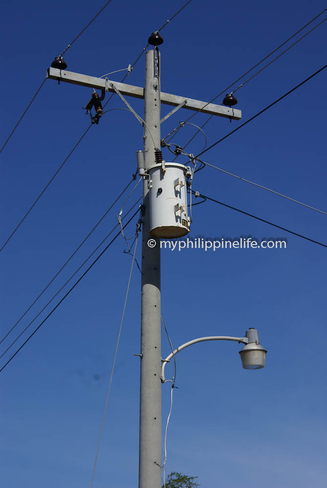 Philippine electrical wiring building our philippine house my the transformer serving our house greentooth Image collections