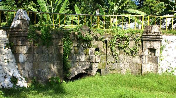 Old Spanish stone bridge, Patnongon, Antique Province, Philippines