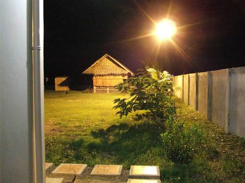 250 watt security light lights our backyard