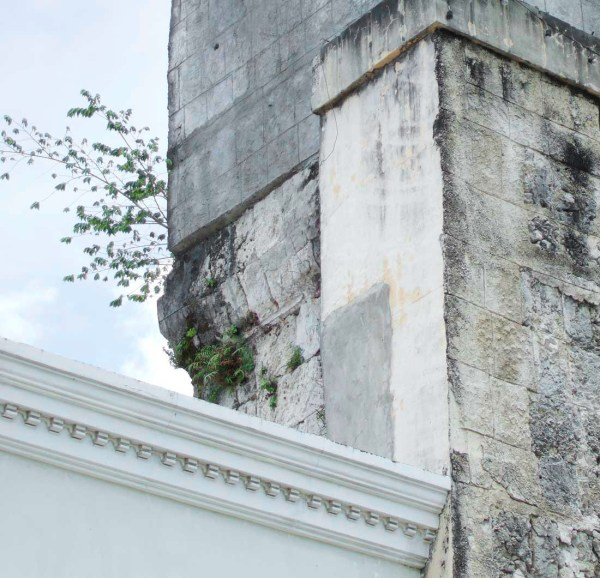 Tigbauan Church Mystery - Detail