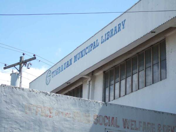 Tigbauan, Iloilo Library - is it open?