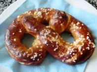Home made pretzel