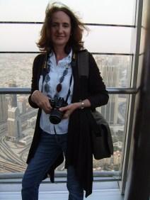 With camera at the Burj Khalifa - My Custard Pie