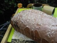 coconutandstrawberryloafcake