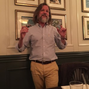 Jared Brown. Pairing gin with dinner - mycustardpie.com
