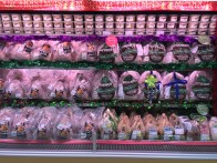 Crowe Farm turkeys reach Dubai - shown here in Waitrose - more about December food experiences on mycustardpie.com