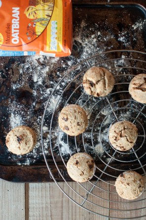 Vegan oatbran scones recipe on mycustardpie
