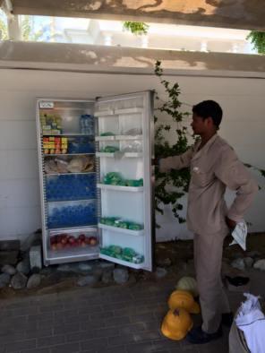 Ramadan sharing fridge