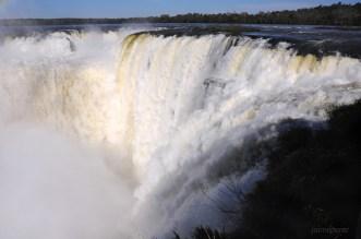 """La Garganta del Diablo"" (Devil's Throat), Iguazu Falls, Iguazu National Park - Argentina"
