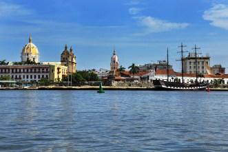 Entering by Cartagena Bay