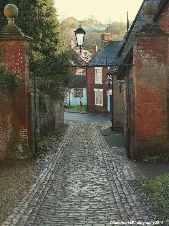 Cobbled Street St Mary's