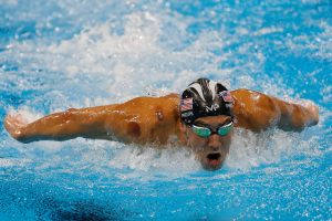 Chinese Cupping Therapy Bruises on Michael Phelps