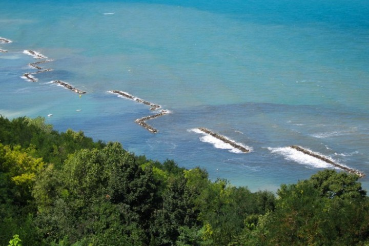 Panorama Straße Adriatic Coast