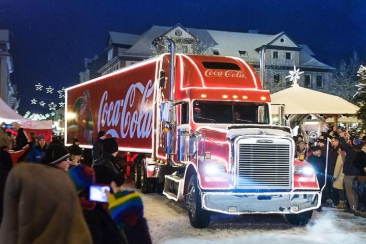 Coca Cola Weihnachtstruck 2014