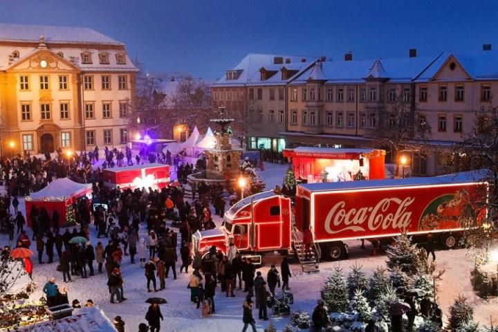 Coca Cola Weihnachtstruck Tour 2014