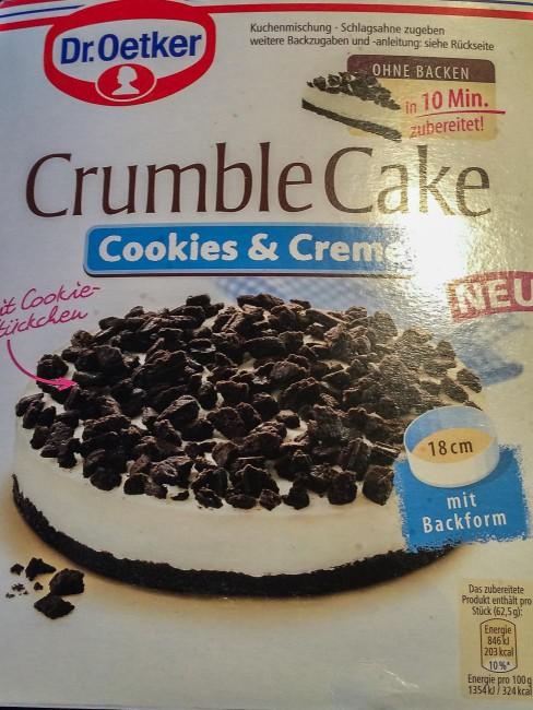 Crumble Cake Backmischung-2