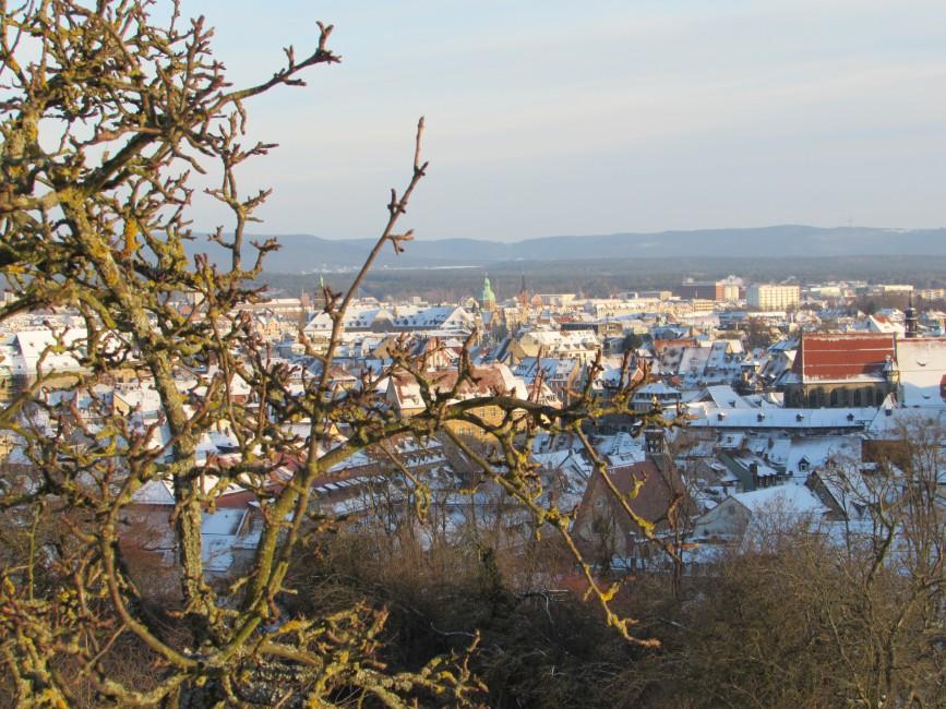 Panoramablick auf Bamberg
