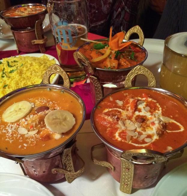 Indisch Essen Korma