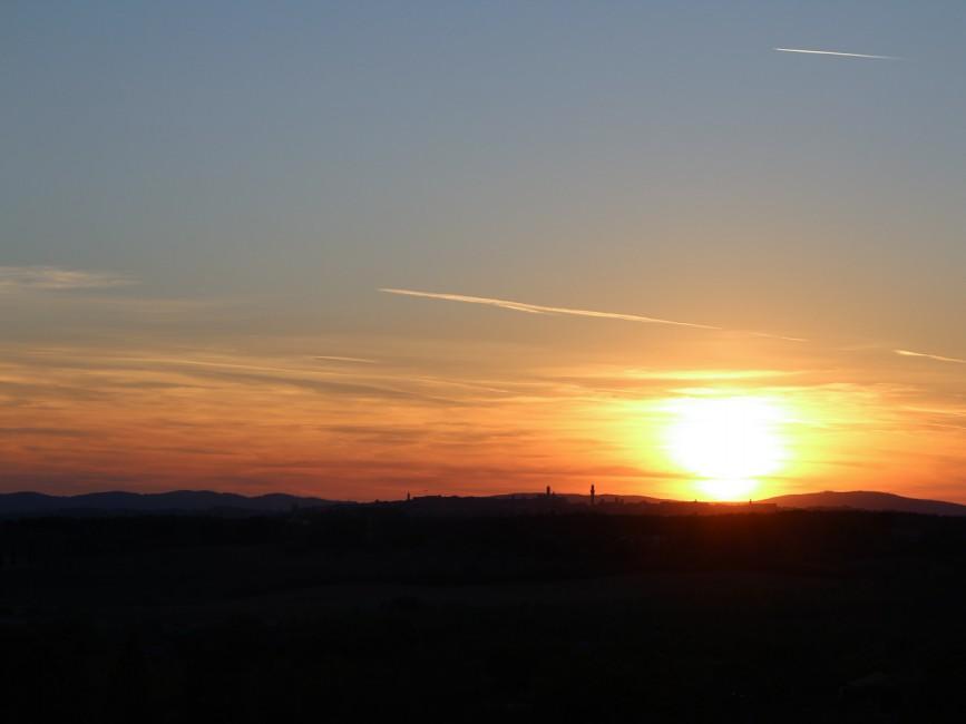 Sunset Siena