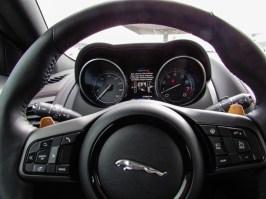Jaguar F-Type R Cockpit