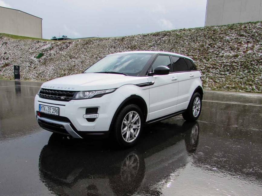 Range Rover Evoque weiß