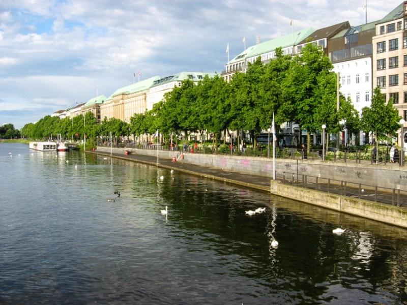 Hamburg Jungfernsteg