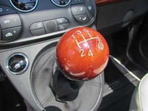 Fiat 500 Riva Schaltknauf