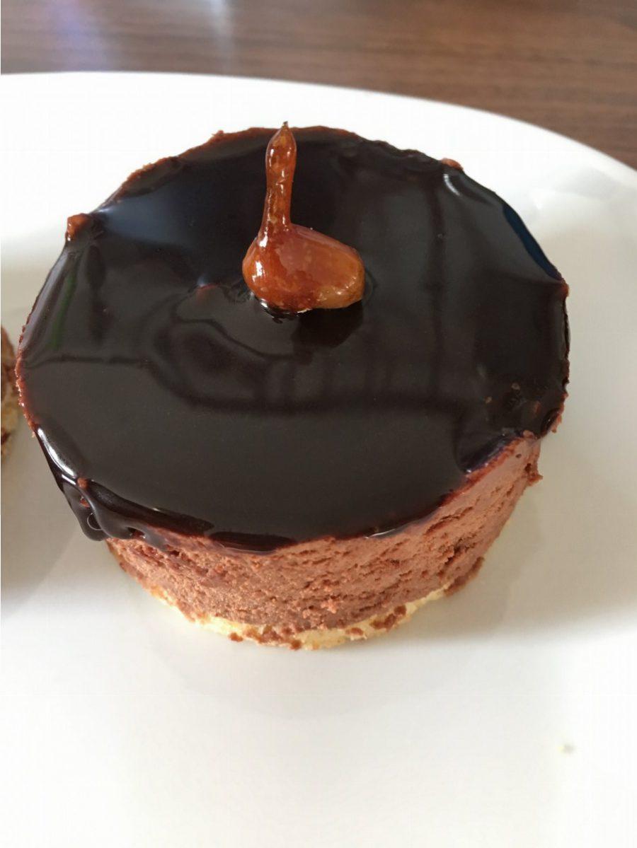 Karamell Schoko Erdnuss Dessert (1)