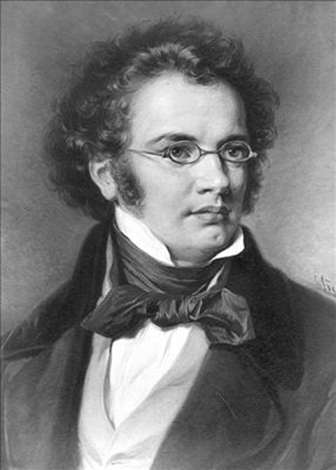 compositor de piano clásico Schubert