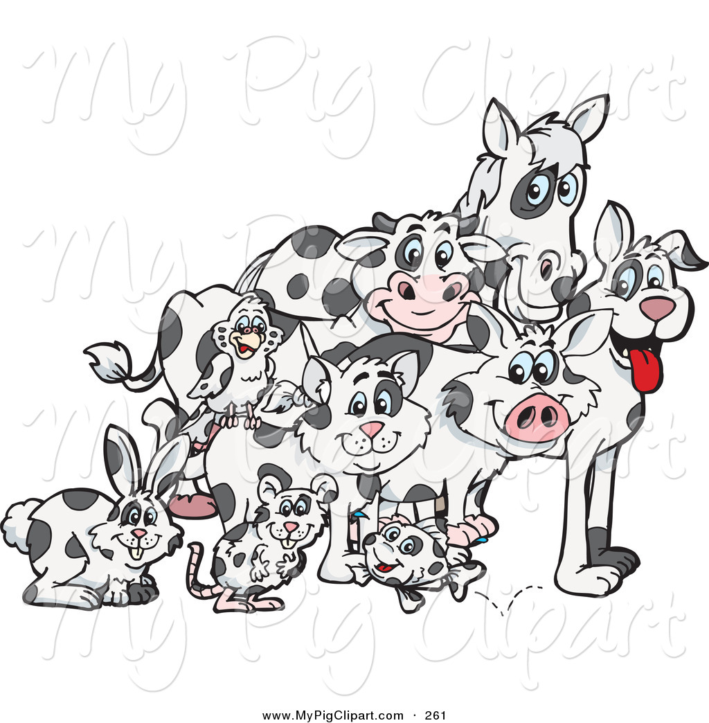 Royalty Free Horse Stock Pig Designs
