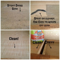 Best Kitchen Cleaner Diy Cabinets How To Clean The Tops Of Greasy Secret