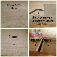 What To Use Clean Kitchen Cabinets Diy Counters How The Tops Of Greasy Secret