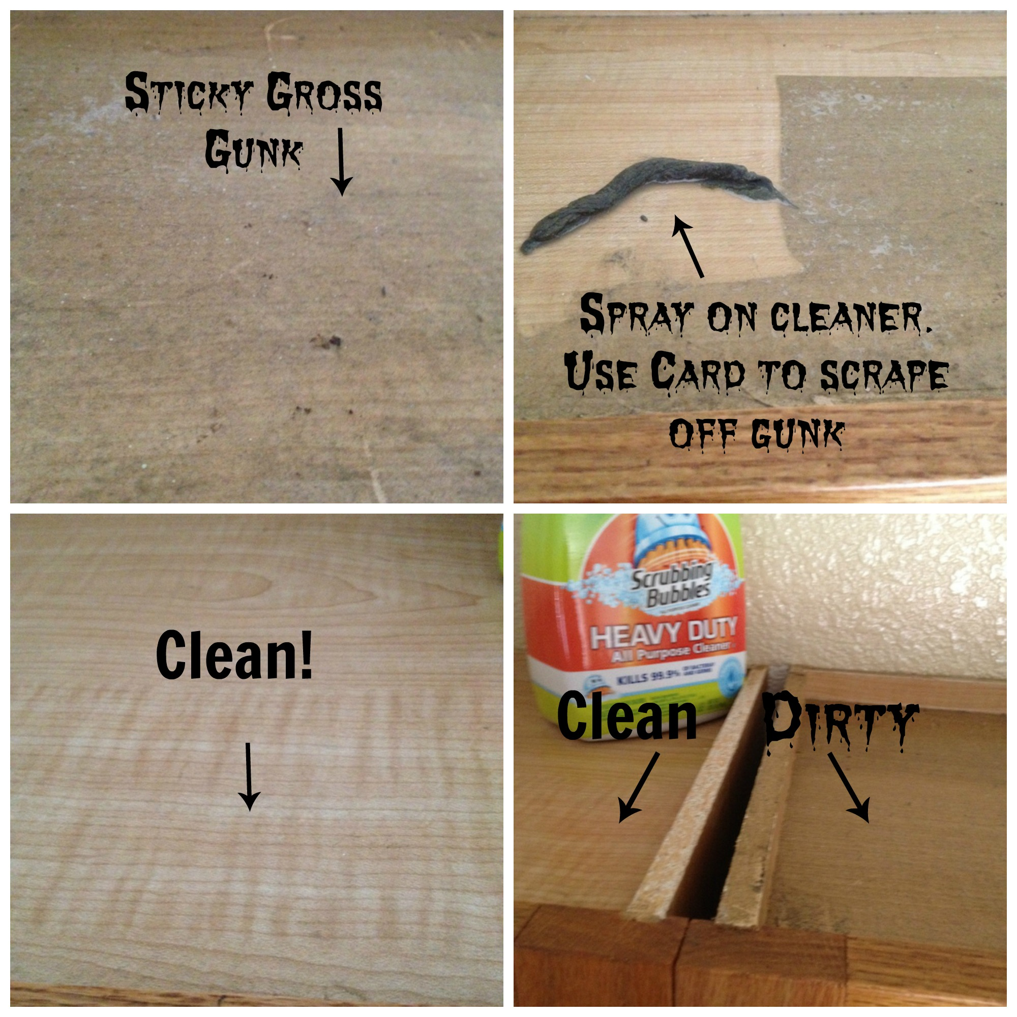 best kitchen cleaner what is the paint for cabinets how to clean tops of greasy secret tip my