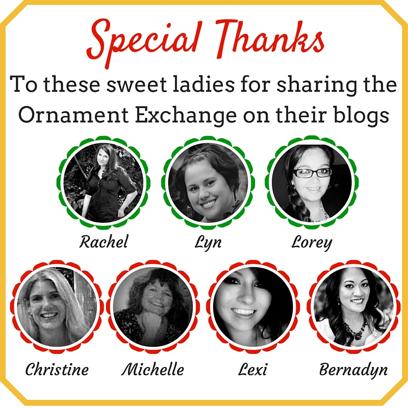2015 HUGE Holiday Ornament Exchange Link Party! | Where The Smiles Have Been