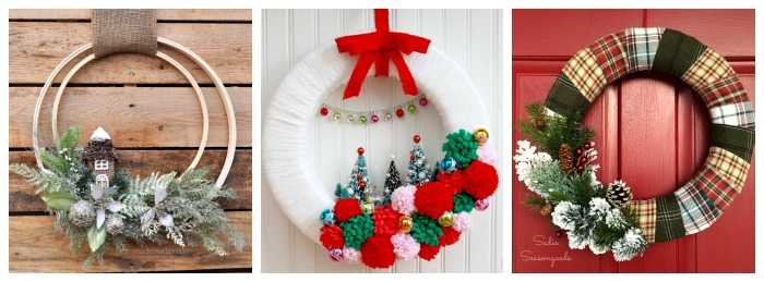 12 Days of Christmas - 12 Unique Wreaths 1