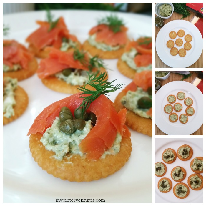 and all things seafood, so this Smoked Salmon with Pesto Cream Cheese ...