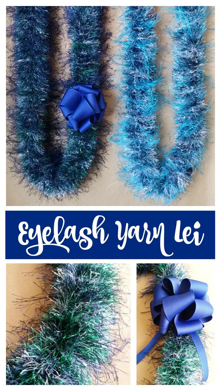 Eyelash Lei : eyelash, Easiest, Eyelash, Graduation, Keepsake