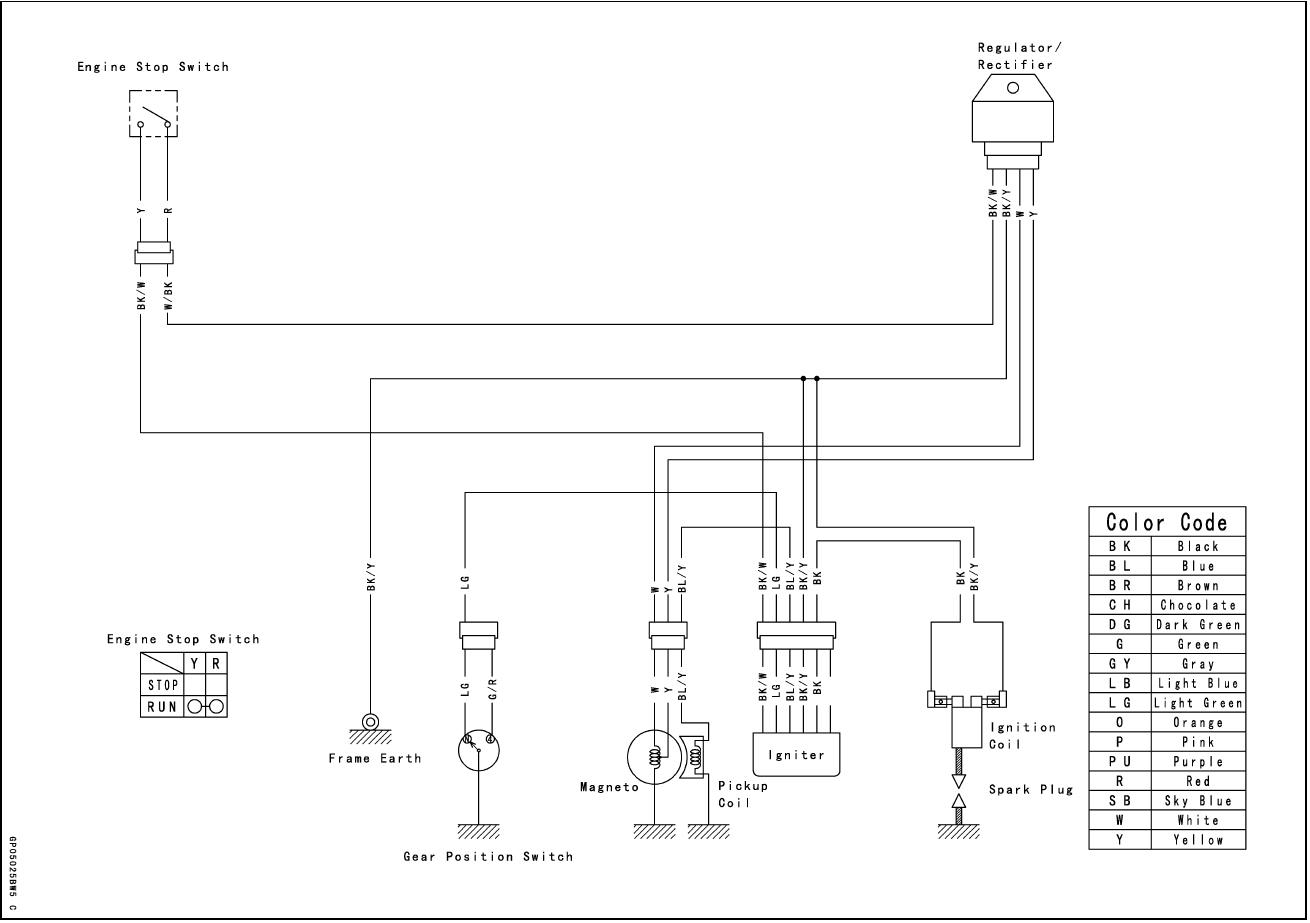 110 wiring diagram stereo kawasaki klx 31 images